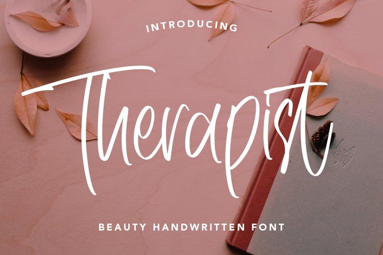 Therapist - Beauty Handwritten Font example image 1