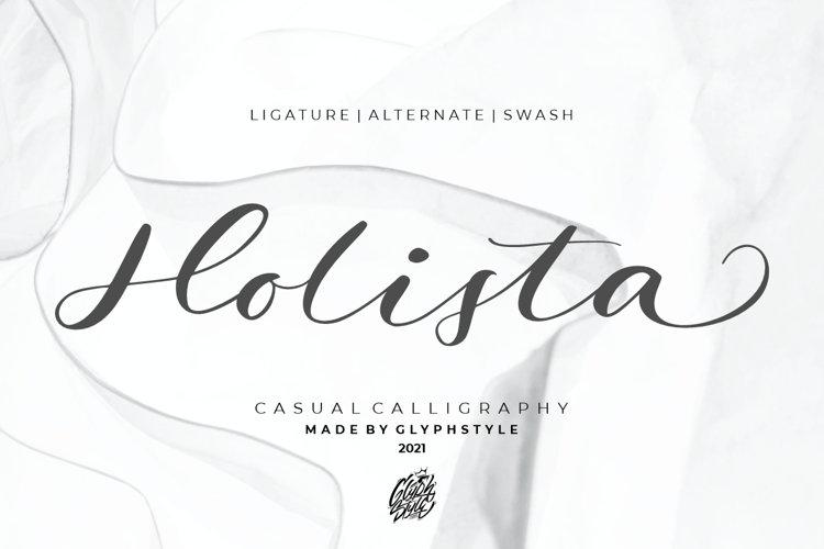 Holista Calligraphy example image 1