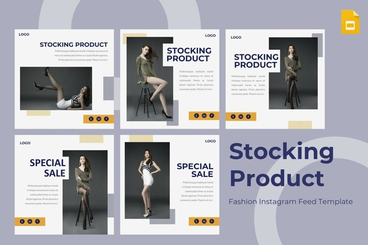 Instagram Feed Template-Stocking Product