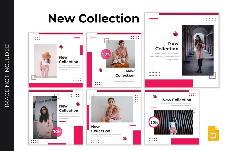 Instagram Feed Template - New Collection #2