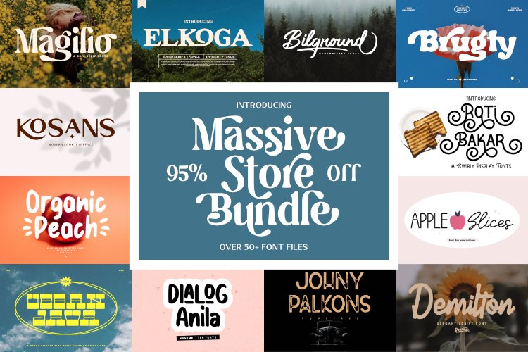 Massive Store Bundle example image 1