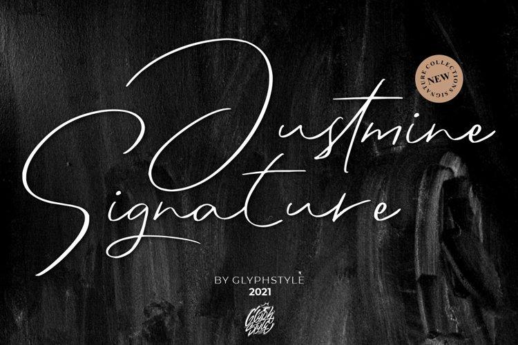 Justmine Signature example image 1