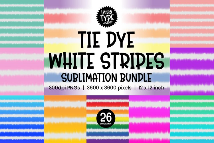 TIE DYE BACKGROUND WHITE STRIPES   26 Digital Papers