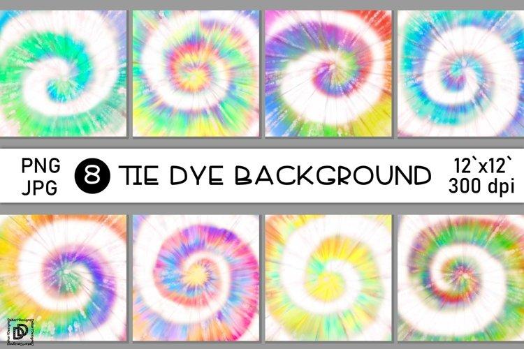 Tie Dye Sublimation Bundle Rainbow Tie Dye Digital Paper