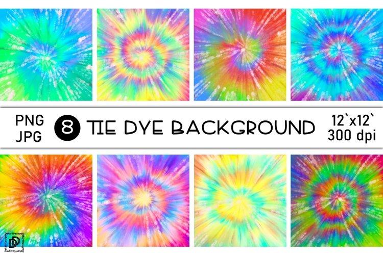 Tie Dye Bundle Sublimation Rainbow Tie Dye Digital Paper