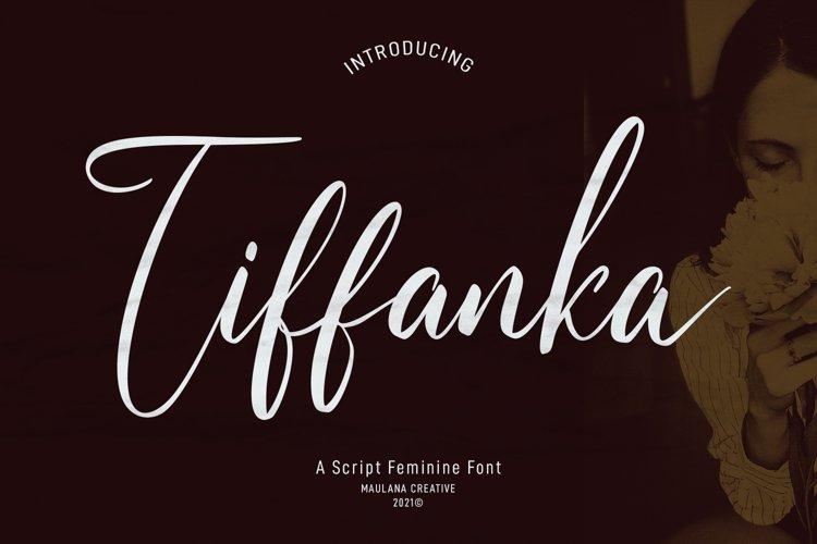 Tiffanka Script Font example image 1