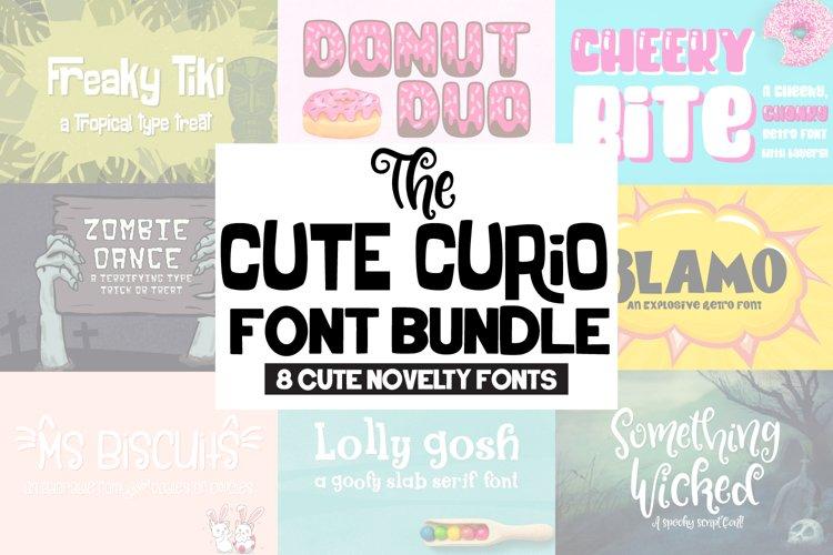The Cute Curio Font Bundle! example image 1