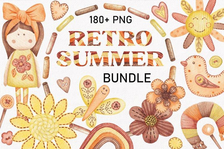 RETRO SUMMER bundle example image 1