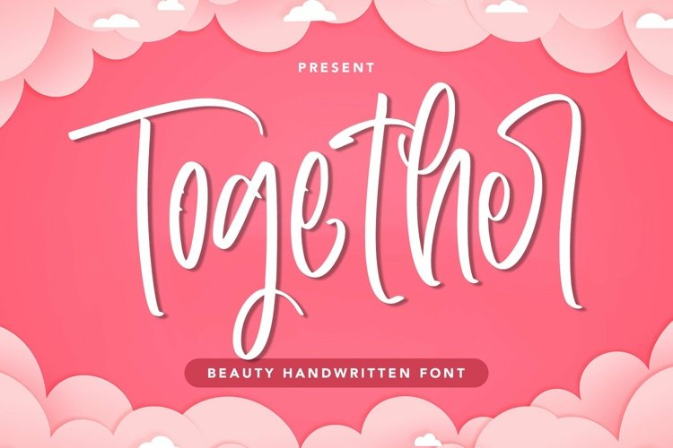 Web Font Together - Beauty Handwritten Font example image 1