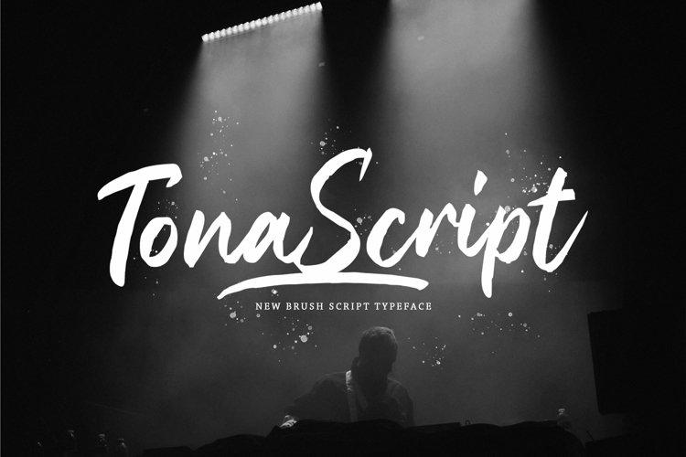 Web Font Tona example image 1