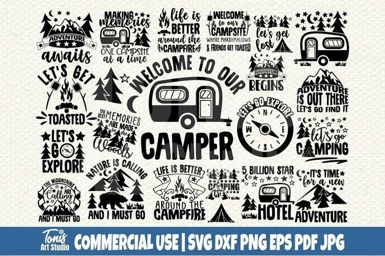 Camping SVG Bundle
