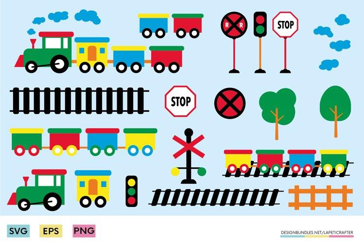 Kid train clip art   cho cho birthday toy train png