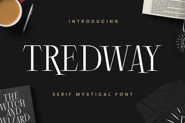 Web Font Tredway example image 1
