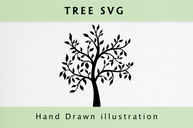 Tree SVG example