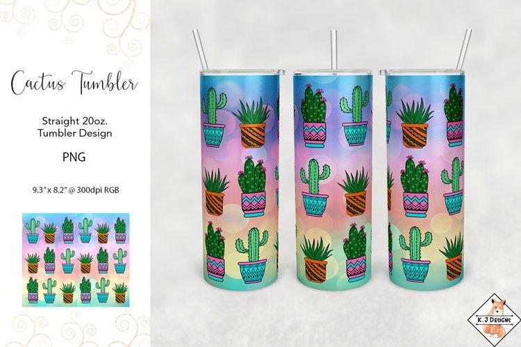Tumbler Sublimation - Cactus Designs