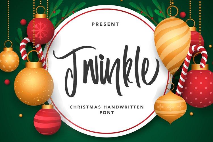 Twinkle - Christmas Handwritten Font example image 1
