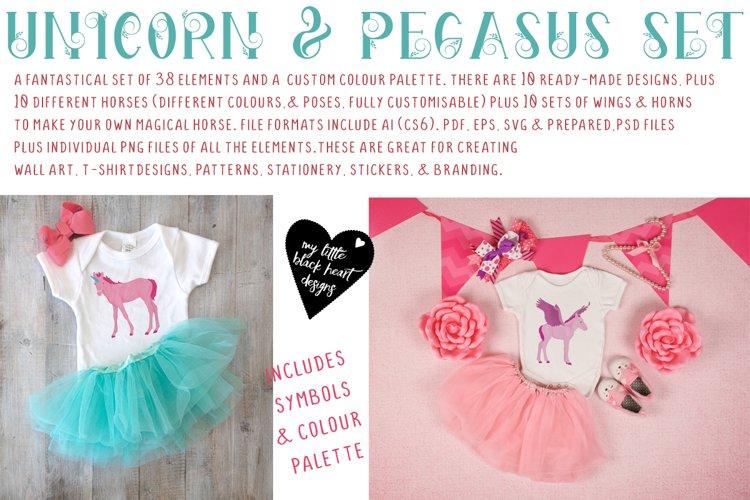 Unicorn and Pegasus Kit