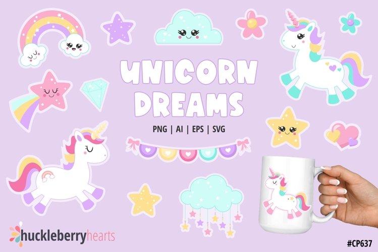 Unicorn Dreams Clipart