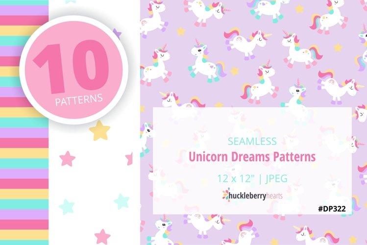 Unicorn Dreams Patterns