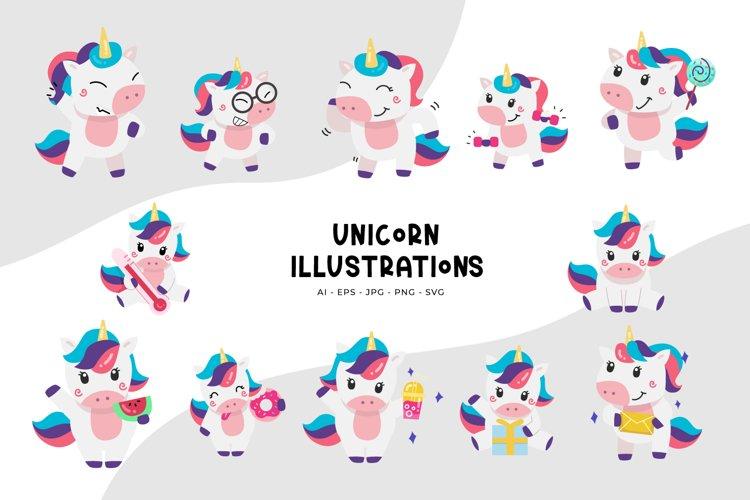 Unicorn Illustrations