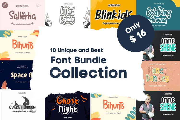 Best crafting font bundle collection example image 1