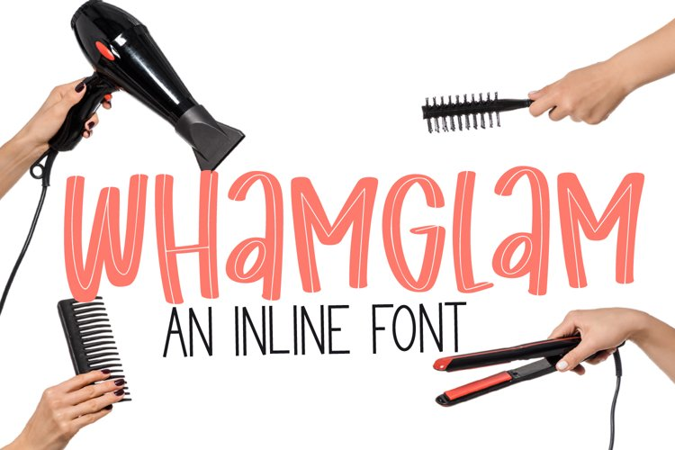 Whamglam - an inline marker font example image 1