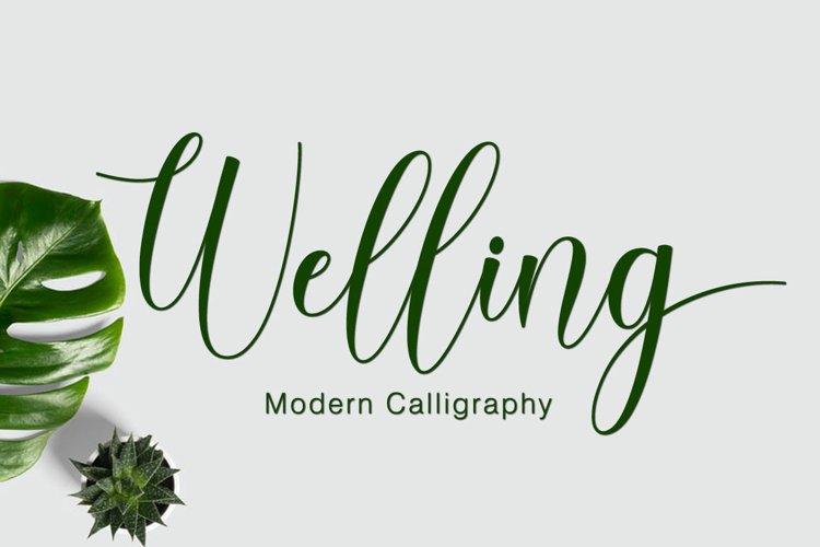 Welling