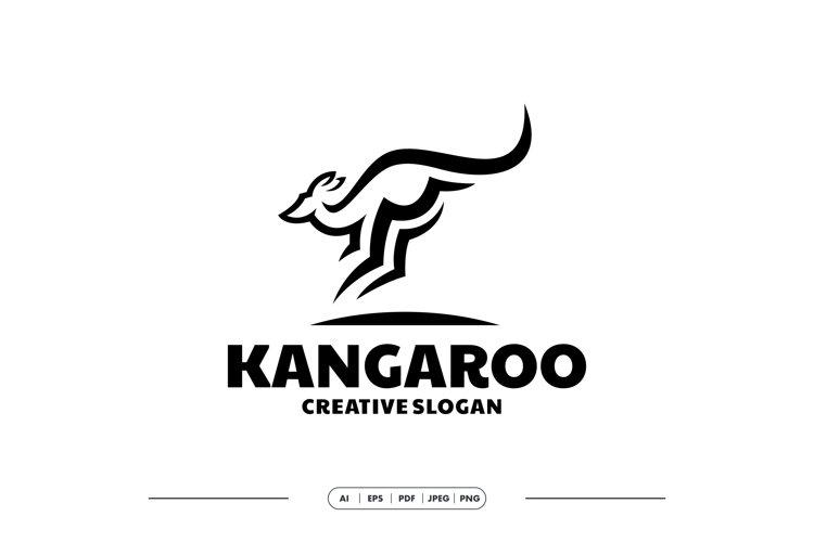 Kangaro Simple Logo Template