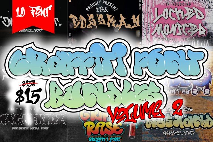 Graffiti Font Bundles vol.2 example image 1