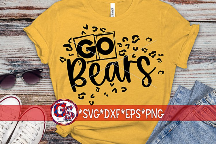 Go Bears SVG DXF EPS PNG