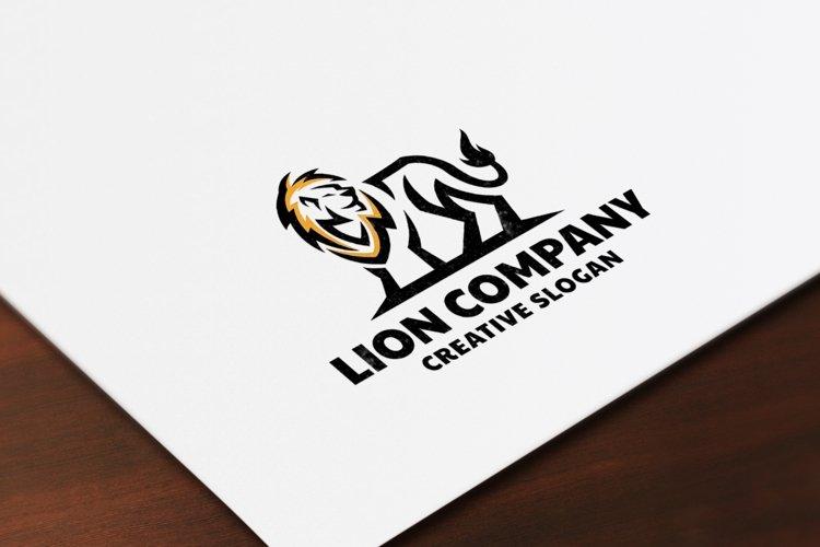 Elegant Lion Logo Template