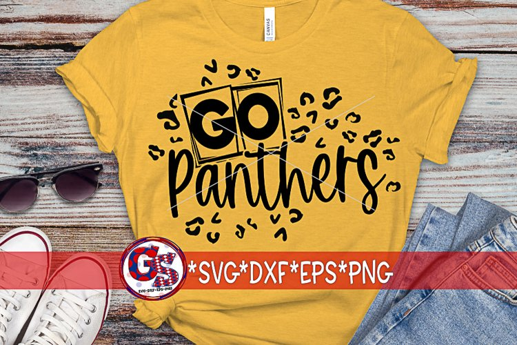 Go Panthers SVG DXF EPS PNG