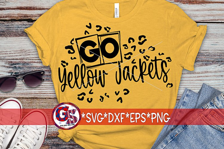 Go Yellow Jackets SVG DXF EPS PNG