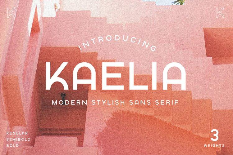 KAELIA - Simple Stylish Typeface example image 1