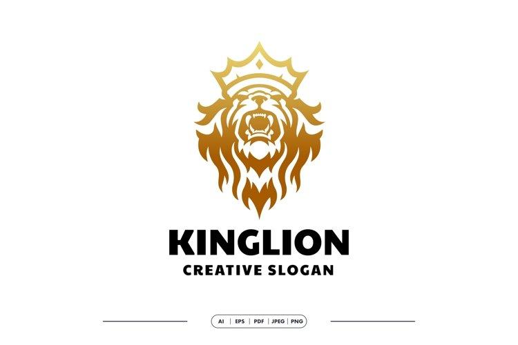 King Lion Luxury Logo