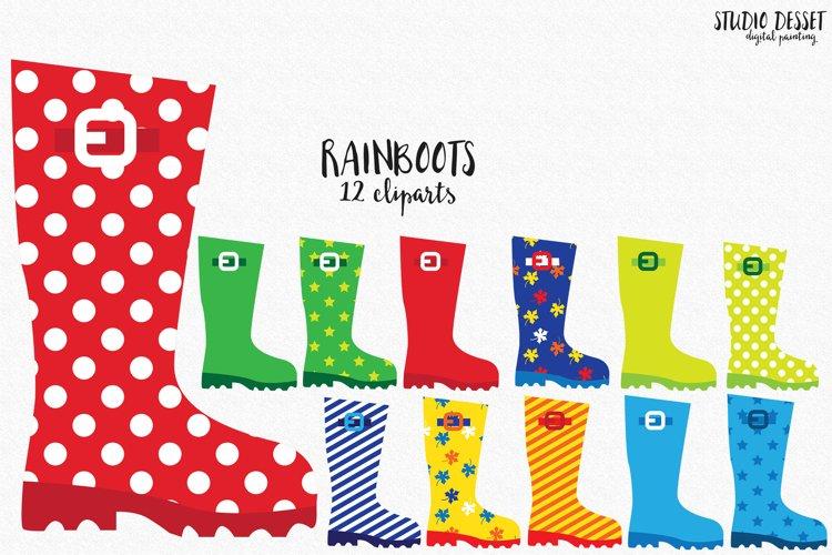 Rain Boots Cliparts