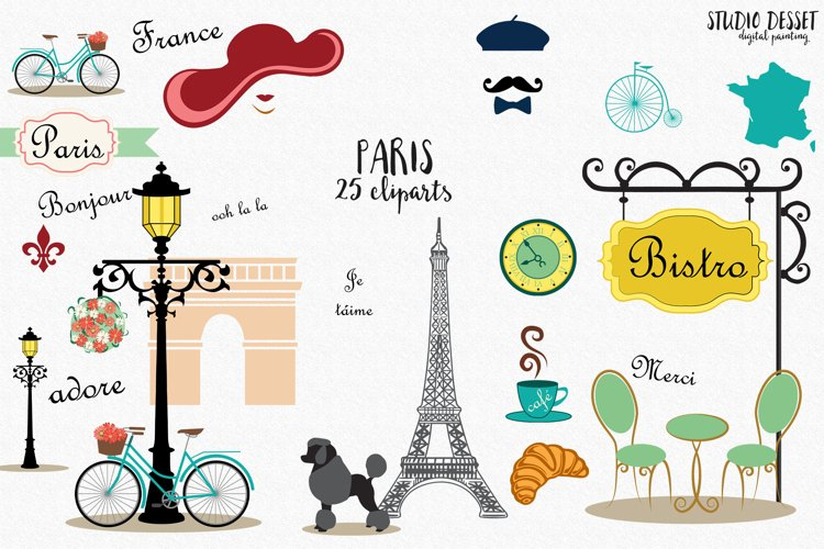 Paris Cliparts | France Illustrations