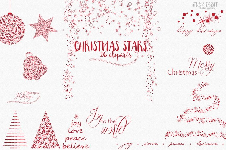 Christmas Design Elements | Christmas Tree Cliparts