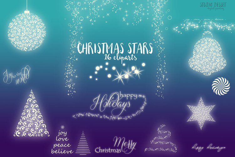 Christmas Tree Cliparts | Christmas Design Elements