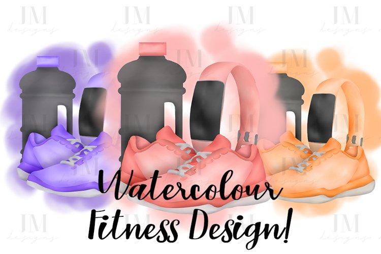 Watercolour Fitness Design