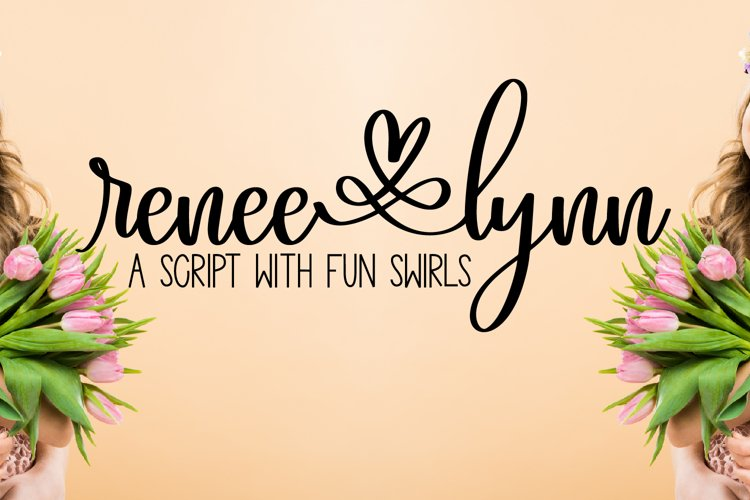 Renee Lynn - A Script With Fun Swirls and Swooshes