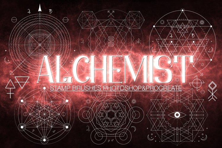 Alchemist Stamp Brushes PS/Procreate