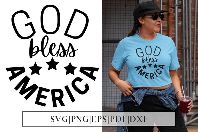 God Bless America SVG | 4th July God Bless America SVG