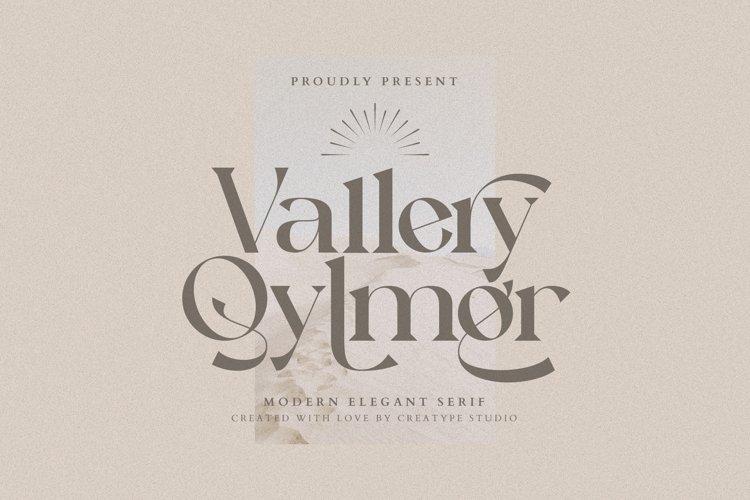 Vallery Qylmor Modern Elegant Serif example image 1