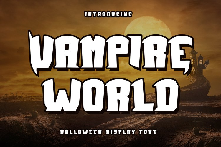 Vampire World - Halloween Display example image 1