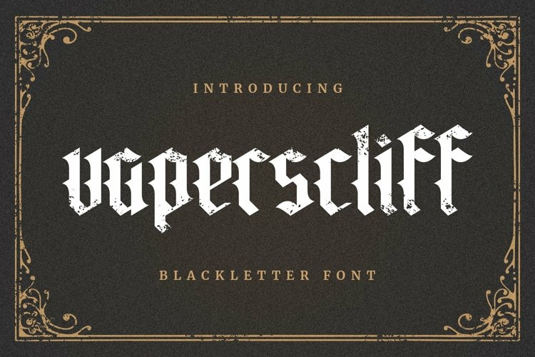 Web Font Vaperscliff example image 1