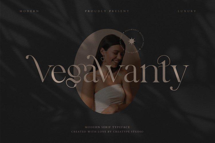 Vegawanty Modern Serif example image 1