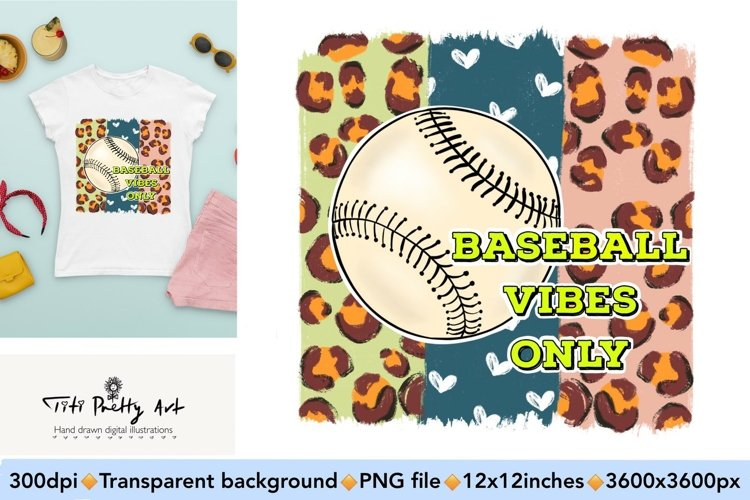 Baseball Vibes Only Bundle PNG