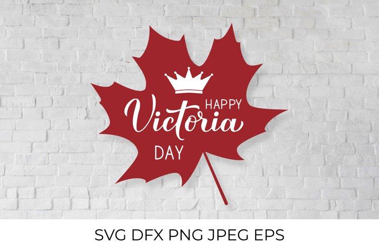 Victoria day in Canada SVG