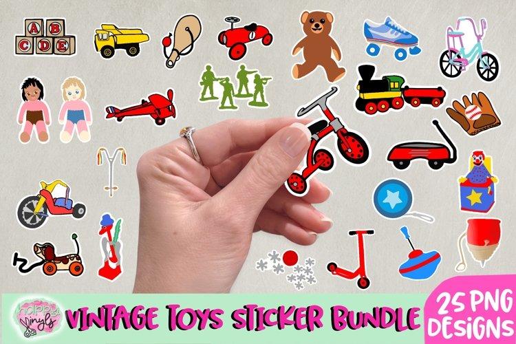 Vintage Toys Stickers - A Sticker Bundle